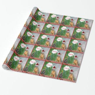 De Eekhoorn en de Kerstboom van Kerstmis Inpakpapier