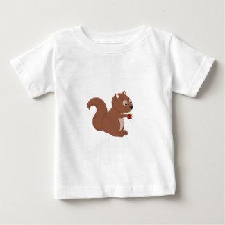 De Eekhoorn van de cartoon Baby T Shirts