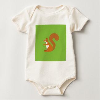 De Eekhoorn van de zitting Baby Shirt