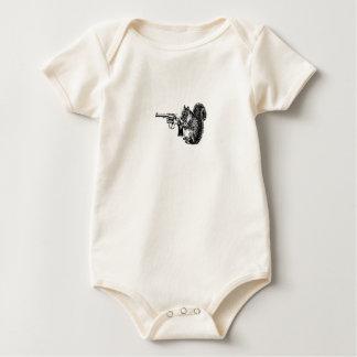 De Eekhoorn van het pistool Baby Shirt