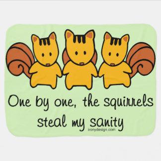 De eekhoorns stelen mijn geestelijke gezondheid inbakerdoek