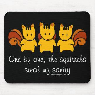 De eekhoorns stelen mijn geestelijke gezondheid muismat