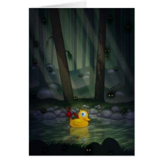 De Eend van het avontuur in het Donkere Bos Kaart