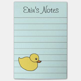 De Eend van het baby om de Nota's van de Post-it Post-it® Notes