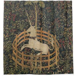 De eenhoorn is het Gevangen Gordijn van de Douche