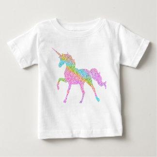 De eenhoorn schittert Bovenkant voor kind Baby T Shirts