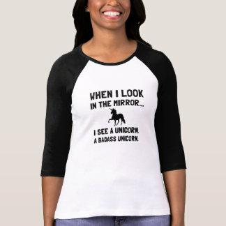 De Eenhoorn van Badass T Shirt