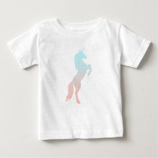 De Eenhoorn van de pastelkleur Baby T Shirts