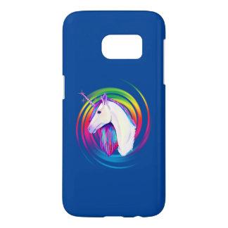 De Eenhoorn van de regenboog Samsung Galaxy S7 Hoesje