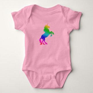 De Eenhoorn van de Regenboog van het baby Romper