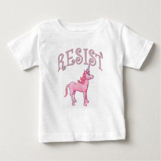 De Eenhoorn van de weerstand Baby T Shirts