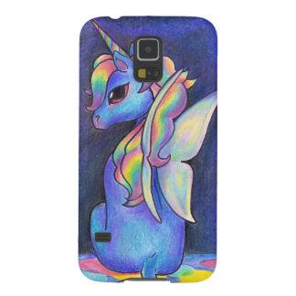 De Eenhoorn van Faerie van de regenboog Galaxy S5 Hoesje