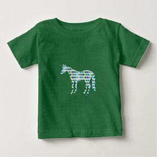 De Eenhoorn van het groen Baby T Shirts