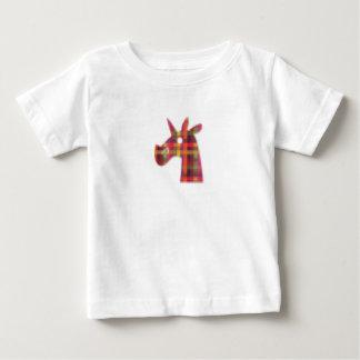 De Eenhoorn van Pixelated Baby T Shirts