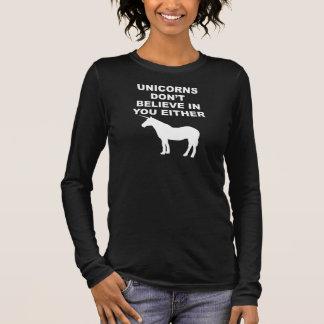 De eenhoorns geloven niet in u t shirts