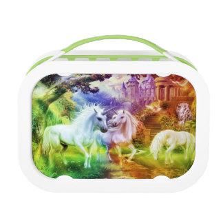 De Eenhoorns van het Koninkrijk van de regenboog Lunchbox