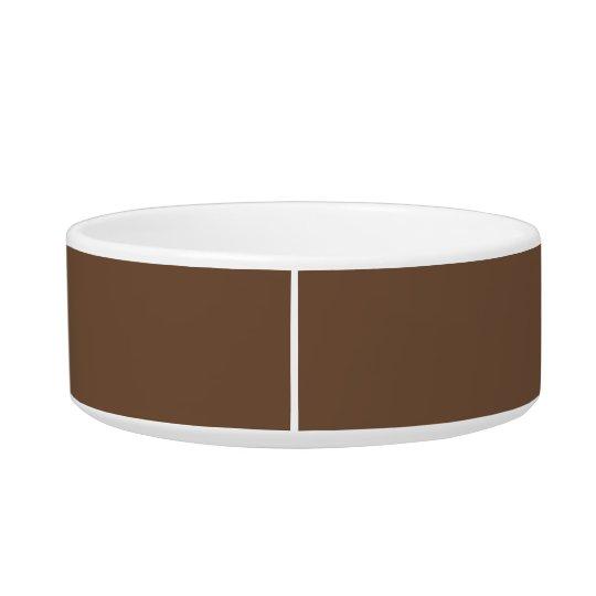 De Eenvoudige Bijkomende Kleur van de koffie Voerbakje