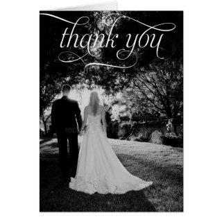 Huwelijk Bedankt kaarten