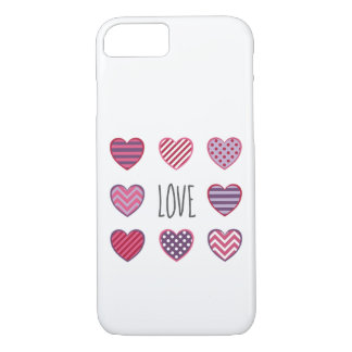 De eenvoudige Minimale Liefde Valentijn van de iPhone 8/7 Hoesje