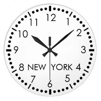 De eenvoudige Redactiekamer van New York Grote Klok