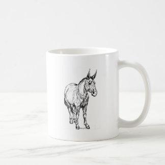 De Eenvoudige Schets van de muilezel Koffiemok