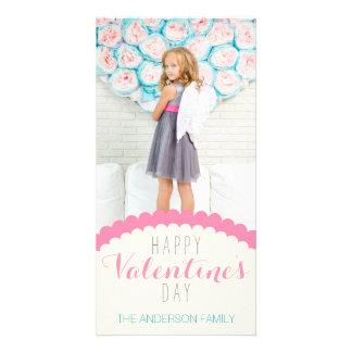 De eenvoudige Schone Foto van Valentijn van de Fotokaarten