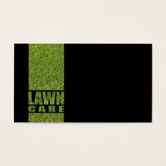De eenvoudige Zwarte Kaart van het Gras van de Visitekaartjes