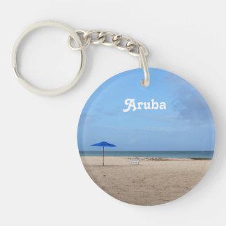 De Eenzaamheid van Aruba Sleutelhanger