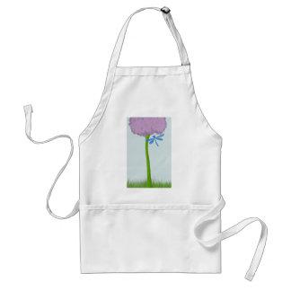 De eenzame Hydrangea hortensia Standaard Schort