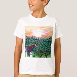 de eenzame Okapi T Shirt