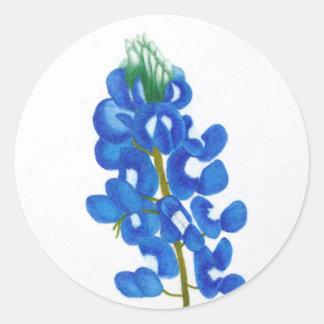 De eenzame Sticker van Bluebonnet van de Ster