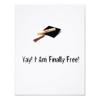 De eerlijke Uitnodigingen van Afstuderen
