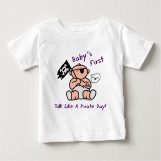 De eerste bespreking van de baby zoals een baby t shirts