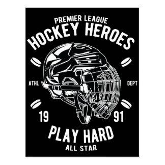 De eerste Helden van het Hockey van de Liga spelen Briefkaart