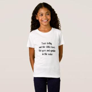 De Eerste Lijn van Jabberwocky T Shirt