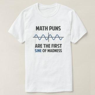 De Eerste Sinus van de Woordspelingen van de T Shirt