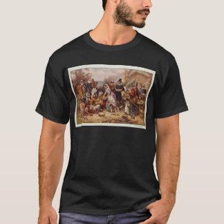 De eerste Thanksgiving door Jean Leon Gerome T Shirt