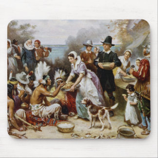 De eerste Thanksgiving Muismat