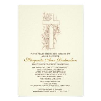 De eerste Uitnodiging van de Heilige Communie -