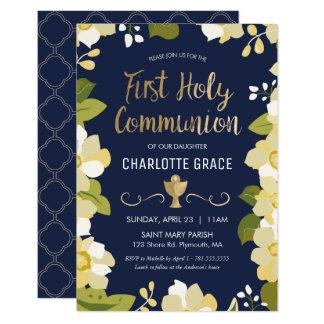 De eerste Uitnodiging van de Heilige Communie,