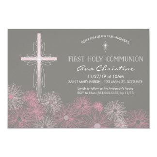 De eerste Uitnodiging van de Heilige Communie met
