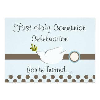 De eerste Uitnodigingen van de Heilige Communie