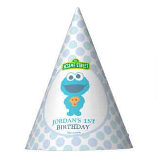 De Eerste Verjaardag van de Baby van het koekje Feesthoedjes