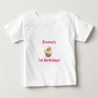 De Eerste Verjaardag van het meisje Baby T Shirts