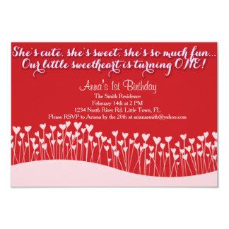 De Eerste Verjaardag van Valentijn Kaart
