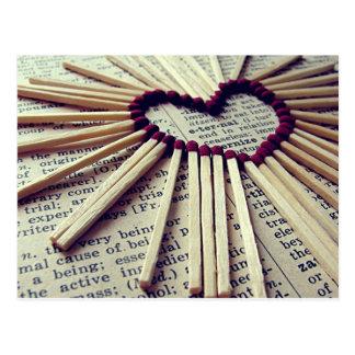 De Eeuwige Liefde van het hart Briefkaart