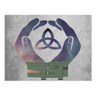 De eeuwigheid Handfasting bewaart het Briefkaart