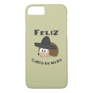 De Egel van Cinco DE Mayo van Feliz iPhone 7 Hoesje