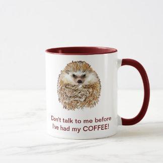 De Egel van de koffie Mok