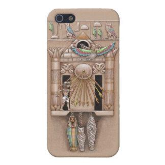 De Egyptische Dekking van de Klok van de Koekoek iPhone 5 Hoesje